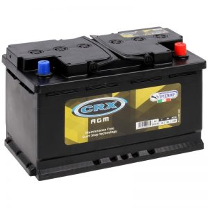 AKKU AGM CRX 80AH -+ 310X175X190
